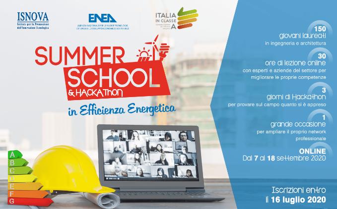 Iscrizione alla Summer School & Hackathon 2020