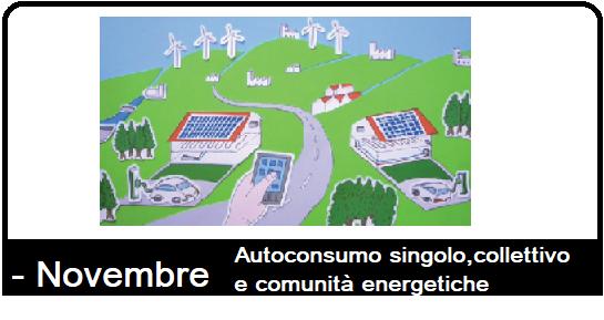 Iscrizione al corso: autoconsumo singolo, collettivo e comunità energetiche